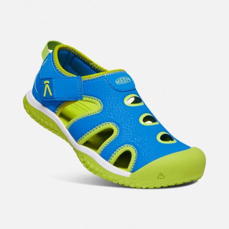 Сандалии детские KEEN Stingray Y | Brilliant Blue/Chartreuse | Вид 1