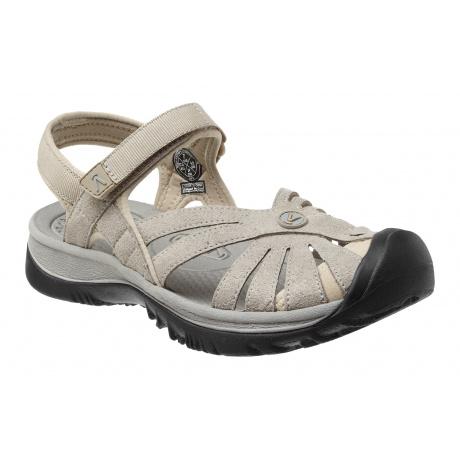 Сандалии женские KEEN Rose Sandal | Aluminum/Neutral Gray | Вид 1