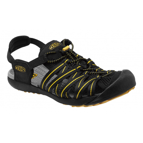 Сандалии KEEN Kuta M | Black/Ceylon Yellow | Вид 1