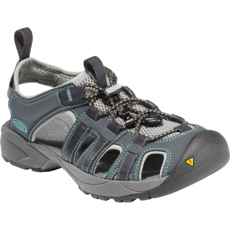 Сандалии женские KEEN Turia Sandal | Dark Shadow/Sea Blue | Вид 1