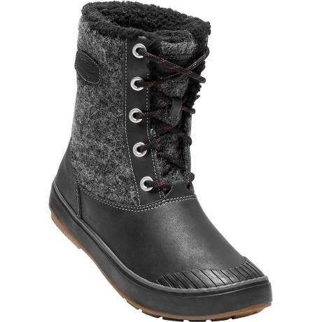 Сапоги женские KEEN Elsa Boot WP | Black Wool | Вид 1