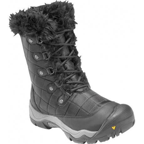Сапоги женские KEEN Sunriver High Boot   Black   Вид 1