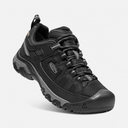 Кроссовки KEEN Targhee Exp WP M | Black/Steel Grey | Вид 1