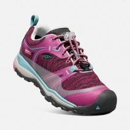 Кроссовки подростковые KEEN Terradora Low WP Y | Boysenberry/Red Violet | Вид 1