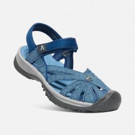 Сандалии женские KEEN Rose Sandal | Blue Opal/Provincial Blue | Вид 1