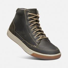 Ботинки KEEN Glenhaven Sneaker Mid M | Dark Olive/Black Olive | Вид 1