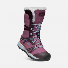 Сапоги подростковые KEEN TERRADORA WINTER WP Y | Wine Tasting/Tulipwood | Вид 1