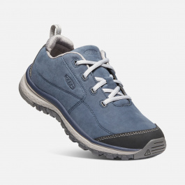 Полуботинки женские KEEN  Terradora Sneaker Leather W | Blue Nights/Paloma | Вид 1