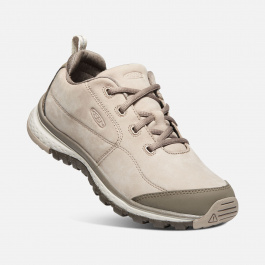 Полуботинки женские KEEN  Terradora Sneaker Leather W | Pure Cashmere/Brindle | Вид 1