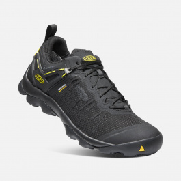 Кроссовки KEEN Venture WP M | Black/Keen Yellow | Вид 1