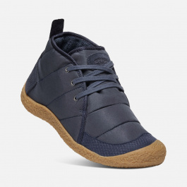 Ботинки женские KEEN HOWSER QUILTED CHUKKA W | Blue Nights/Gum | Вид 1