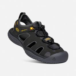 Сандалии мужские KEEN Solr Sandal M | Black/Gold | Вид 1