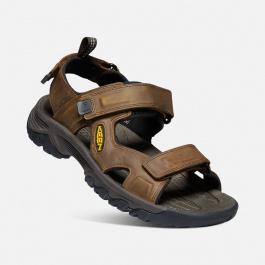 Сандалии мужские KEEN Targhee III Open Toe Sandal M   Bison/Mulch   Вид 1