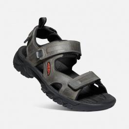 Сандалии мужские KEEN Targhee III Open Toe Sandal M | Grey/Black | Вид 1