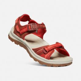 Сандалии женские KEEN Terradora II Open Toe Sandal W | Dark Red/Coral | Вид 1