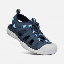 Сандалии женские KEEN Solr Sandal W | Navy/Blue Mist | Вид 1