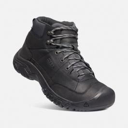 Ботинки мужские KEEN TARGHEE III CHUKKA WP M | Black/Raven | Вид 1