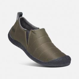Ботинки мужские KEEN HOWSER II M | Dark Olive/Black | Вид 1