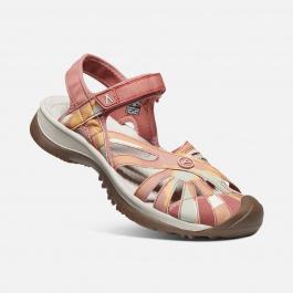 Сандалии женские KEEN Rose Sandal | Brick Dust/Multi | Вид 2