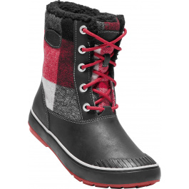 Сапоги женские KEEN Elsa Boot WP | Black/Red Dahila | Вид 1