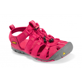 Сандалии женские KEEN Clearwater CNX | Barberry/Hot Coral | Вид 1